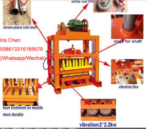 Qtj4-40 Conrete Wall Brick/Paver Brick/Tiger Stone Machinery Price pictures & photos