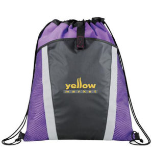 Customized Material and Printing Drawstring Backpack Bag for Promotion pictures & photos