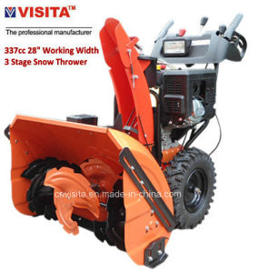 """337cc 28"""" Working Width 3 Stage Snow Blower with LED Light Bar pictures & photos"""