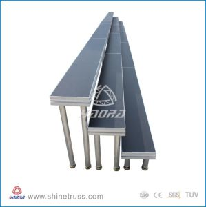 Aluminum Chorus Stage with 18mm Black Plywood pictures & photos