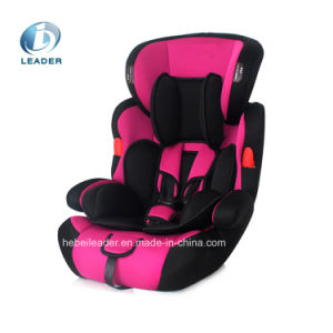 Baby Car Seat / Child Car Seat Booster Car Seat with Back Rest ECE Certification for Group 1+2+3 (9-36kgs, 1-12 year baby) pictures & photos