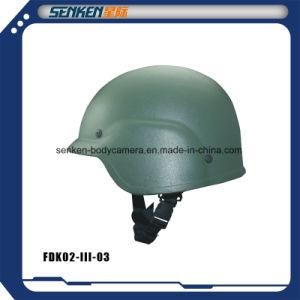 Senken Pasgt Nij Iiia PE Military Kevlar Ballistic Helmet pictures & photos
