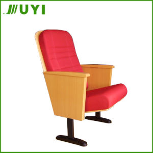 China Manufactory Price VIP Brand Fabric Folding Theatre Seating Jy-603m pictures & photos