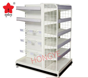 Convenience Store Combined Gondola Shelf Rack for Checkout Counter (OW-A16) pictures & photos