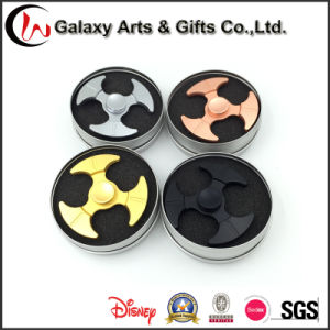 Colorful Metal Axe Tri Spinner Fidget Hand Toy Stress Spinners