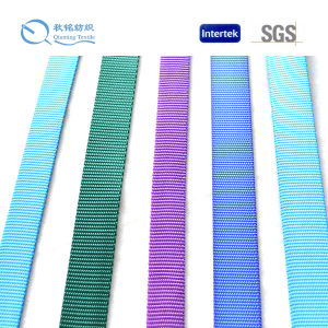 Fashionable Solid Colour 10-100mm Nylon Webbing pictures & photos