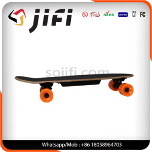 Jifi Maple Wood Longboard Electric Skateboard with Remote Control pictures & photos