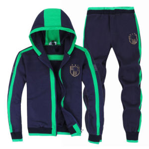 Wholesale Train Soccer Men′s Tracksuit (A801) pictures & photos