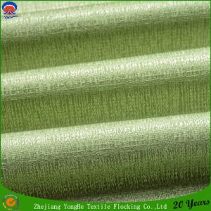 Woven Polyester Flocking Wateroroof Blackout Curtain Fabric for Roller Shutters pictures & photos