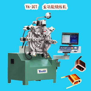 Hot Sale Coil Winding Machine with Servo Control Alone pictures & photos