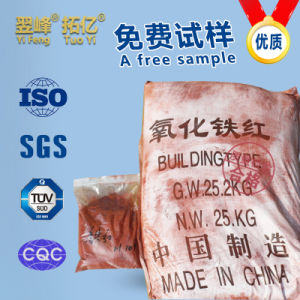 Iron Oxide Red, Inorganic Pigment for Coating pictures & photos