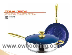3PC Stainless Steel Frypan pictures & photos