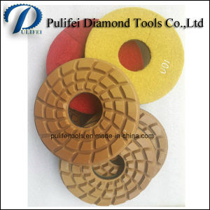 Angle Grinder Wet Floor Grinding and Polishing Pad for Concrete