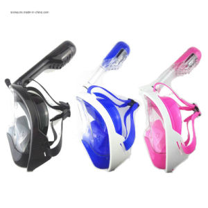 Fashionable Easy Breath Snorkeling Full Face Mask pictures & photos