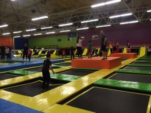 Used Commercial Trampoline Park with Children Indoor Playground Equipment pictures & photos