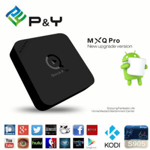 Best! 4k Amlogic S905X Mxq PRO Android Smart TV Box pictures & photos