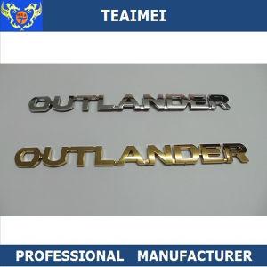 Best Price ABS Car Logo Label Sticker Car Badges for Outlander