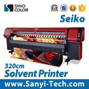 China Trustful Solvent Printer, Digital Printer Sinocolorsk-3278s, Large Format Printer 3.2m Solvent Plotter Printer pictures & photos