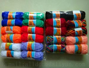 High Quality Eco-Friendly Hand Knitting Crocheting 100% Acrylic Yarn pictures & photos