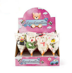 White Carton Bear Shape Toy Lollipop Candy pictures & photos