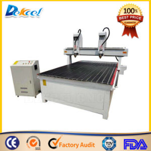 Customized 2 Double Head CNC Router Machine for Woodworking pictures & photos