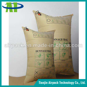 Waterproof and Wetproof Brown Kraft Paper Inflator Dunnage Air Bag OEM pictures & photos