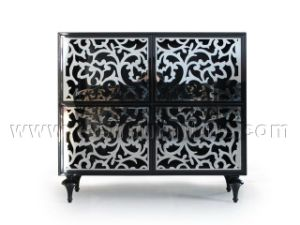 High Quality Livingroom Cabinet Wood Storage Cabinet pictures & photos