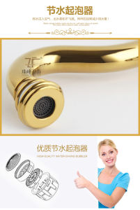 New Design Chinese Ceramic Basin Faucet (Zf-608) pictures & photos
