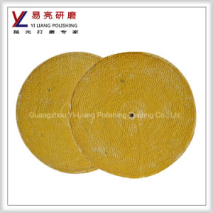Stainless Steel and Copper Surface Long Wearing Sisal Grinding Wheel pictures & photos