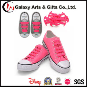 Innovative Product Ideas V-Tie No Tie Elastic Lazy Silicone Shoelaces