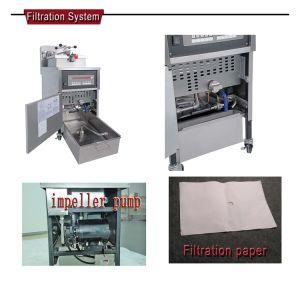 Pfe-600 Deep Fryer Temperature Control, Potato Chips Fryer Machine Price pictures & photos