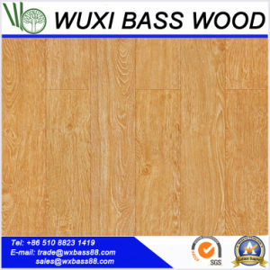 High Quality HDF Brush Box Laminate Flooring pictures & photos