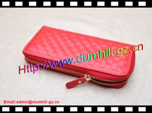 Cheap Price Promotional Faux Leather Lady Hand Purse pictures & photos