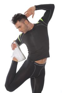 Man′s Compression Gym Track Suit Fitness Sportswear pictures & photos