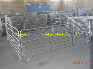Australia Cattle Farm Equipment Rails Fence Livestock Panels pictures & photos