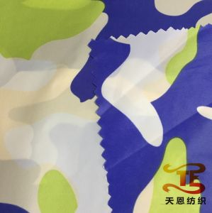Camouflage Printing Children Garment Fabric New Printed Nylon Taffeta Fabric for Down Jackets pictures & photos