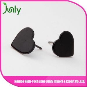 Stud Earrings in Bulk Plastic Stud Heart Earrings pictures & photos