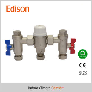 Thermostatic Mixing Valve with Ball Valve Fittings pictures & photos