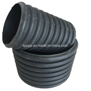 600mm Diameter HDPE Double-Wall Corrugated Pipe for Drainage pictures & photos