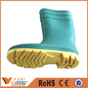 Cheap Industrial PVC Safety Boots Lightweight Working Boots pictures & photos