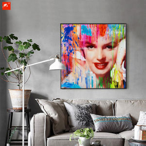 Fashion Girl Canvas Print with Frame pictures & photos