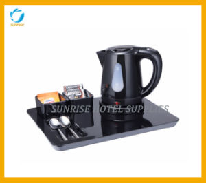 Hotel Hospitality Tray with Cordless Electric Kettle pictures & photos