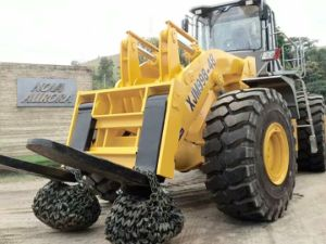 52tons Wheel Forklift Loader pictures & photos