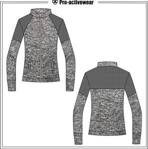 Women Sportswear Varsity Custom Made Wholesale Fitness Jackets pictures & photos