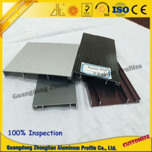 China Aluminum Manufacturs Supplies Stocked Skirting Profile Cupboard Profile pictures & photos