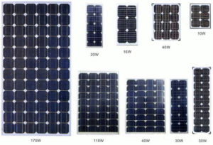 125W Monocrystalline Silicon Sunpower Solar Panel Suit for Solar Street Light