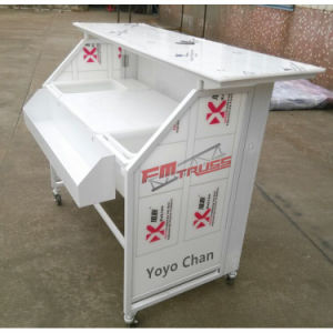 Convenient Bar Table, Portable Folding Bar with Wheel, Folding portable Bar Counter. pictures & photos