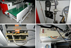Fully Automatic Loop Handle Plastic Bag Making Machine pictures & photos