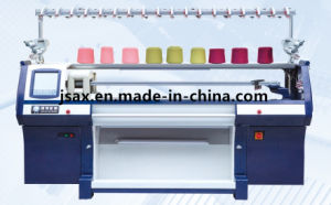 8g Three System Computerized Flat Jacquard Knitting Machine with 68 Inch pictures & photos