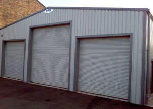 Remote Control Aluminum High Speed Roller Shutter Doors (Hz-FC256) pictures & photos